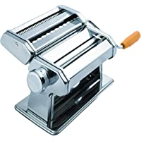 Unique Icons™ Stainless Steel Noodles Cutter Roller, Pasta Maker Machine (3 in 1)