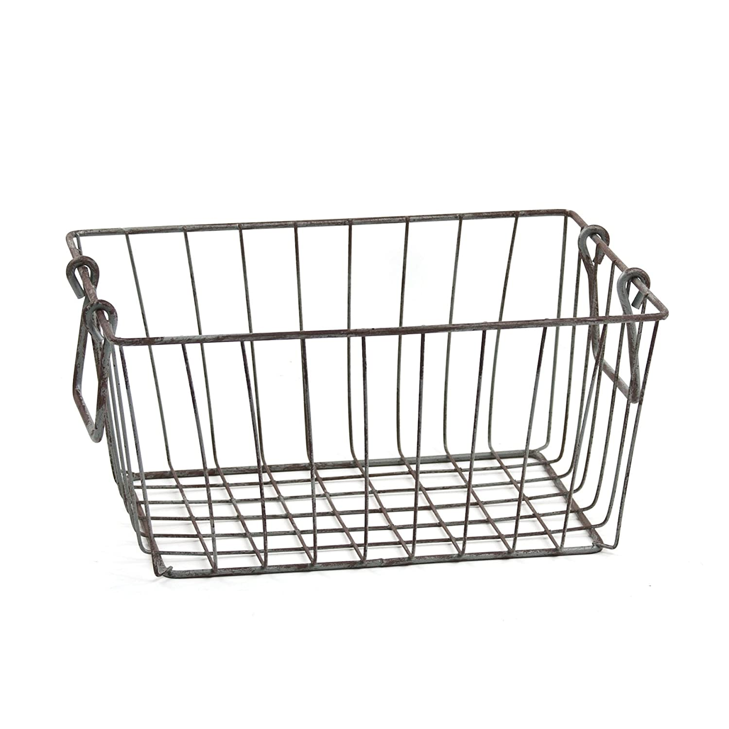 Amazon.com: Skalny Rectangle Wire Storage Container, 10 x 5.5 x 4.5 ...