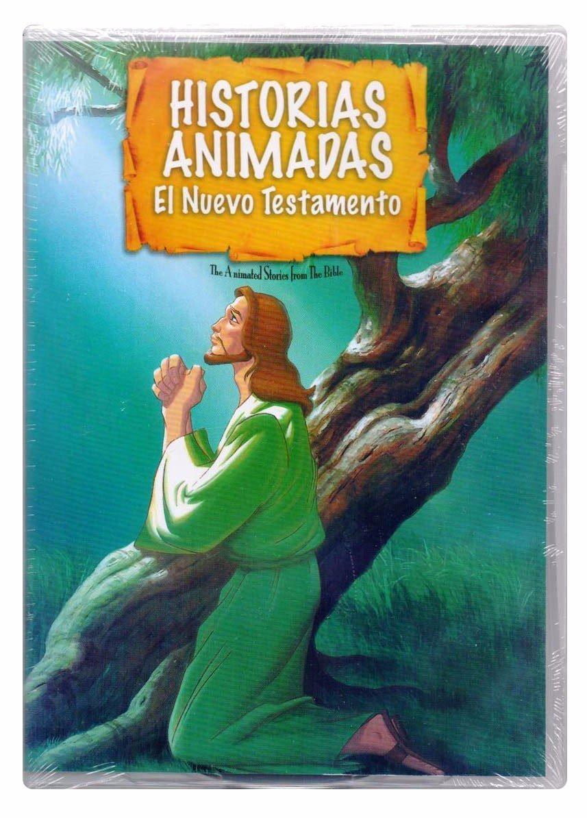 Amazon.com: Historias Animadas De La Biblia Nuevo Testamento ...