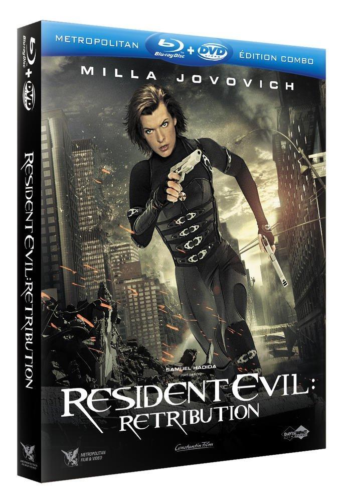 Resident Evil : Retribution [Francia] [Blu-ray]: Amazon.es: Milla Jovovich, Sienna Guillory, Michelle Rodriguez, Aryana Engineer, Li Bingbing, Boris Kodjoe, Paul W.S. Anderson, Milla Jovovich, Sienna Guillory: Cine y Series TV