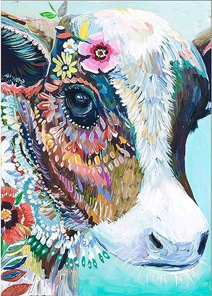 12X16 Inch Full Drill Round Rhinestone Paint with Diamonds,Cross Stitch Embroidery Art,Diamond Art and Dotz 5D DIY Diamond Painting Kits for Adults and Kids