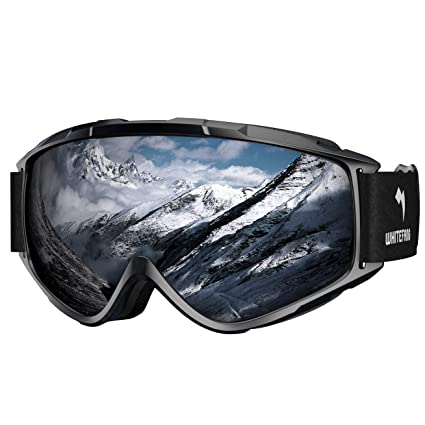 7dbf82c72aeb Image Unavailable. Image not available for. Color  WhiteFang Ski Goggles