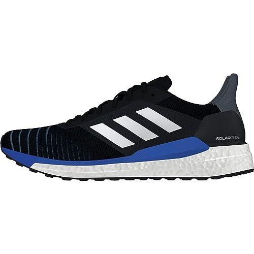 new arrivals ec05c 8f0d8 adidas Solar Glide, Scarpe Running Uomo, Nero Cblack Ftwwht Sholim, 40