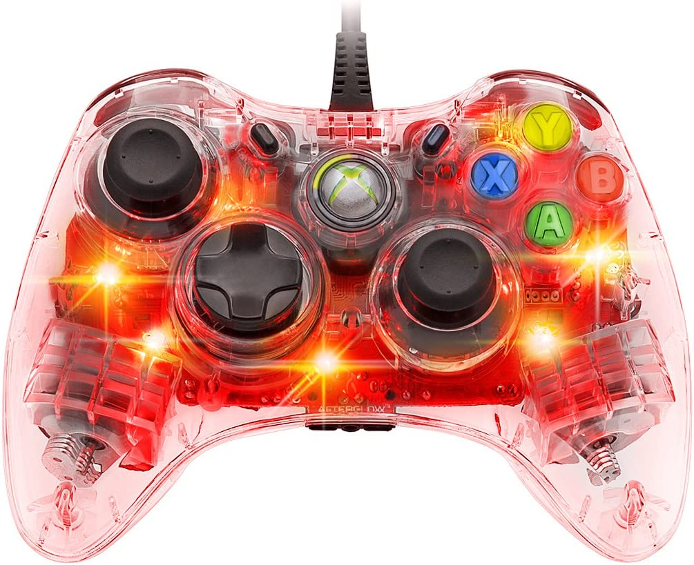 Xbox 360 Wired Controller Pc Blinking: Amazon.com: Afterglow Wired Controller for Xbox 360 - Red: Video Gamesrh:amazon.com,Design