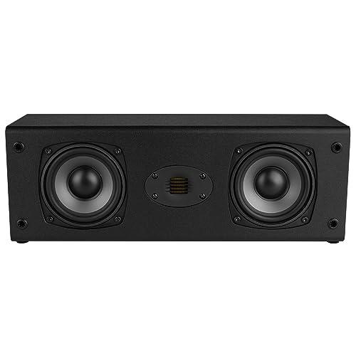 Dayton Audio C452-AIR Dual 4-1 2 2-Way Center Channel Speaker with AMT Tweeter