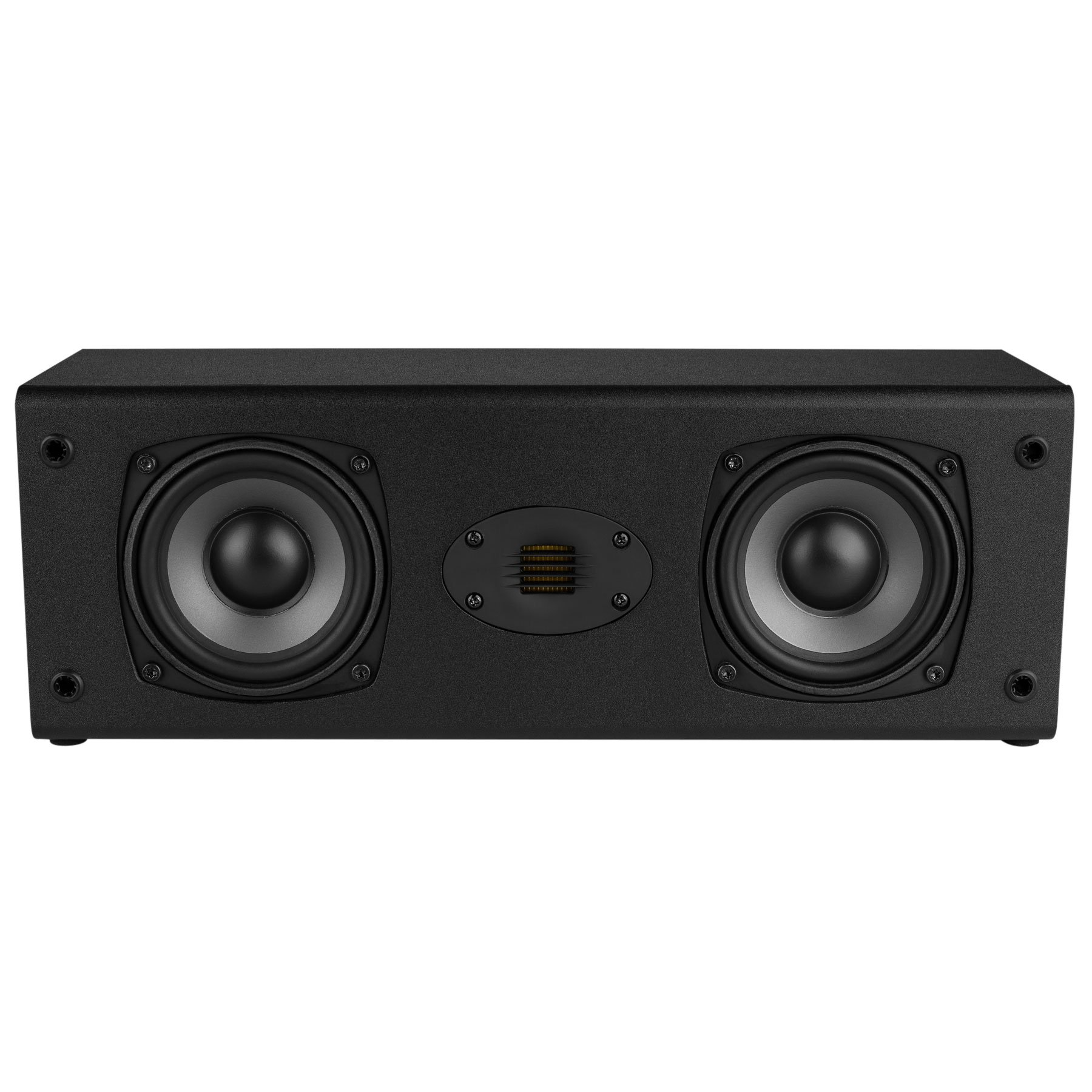 Dayton Audio C452-AIR Dual 4-1/2'' 2-Way Center Channel Speaker with AMT Tweeter by Dayton Audio
