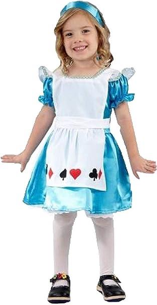 Forever Young Kids Girls Alicia en el país de Las Maravillas Disfraz ...