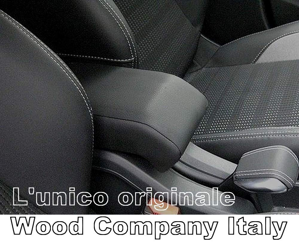Original Wood Company Italy Accoudoir Design Peugeot 2008 Noir Montage sans vis