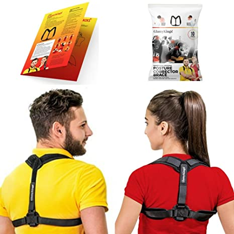 Amazon posture corrector for women men adjustable posture posture corrector for women men adjustable posture brace for clavicle support and upper back solutioingenieria Choice Image