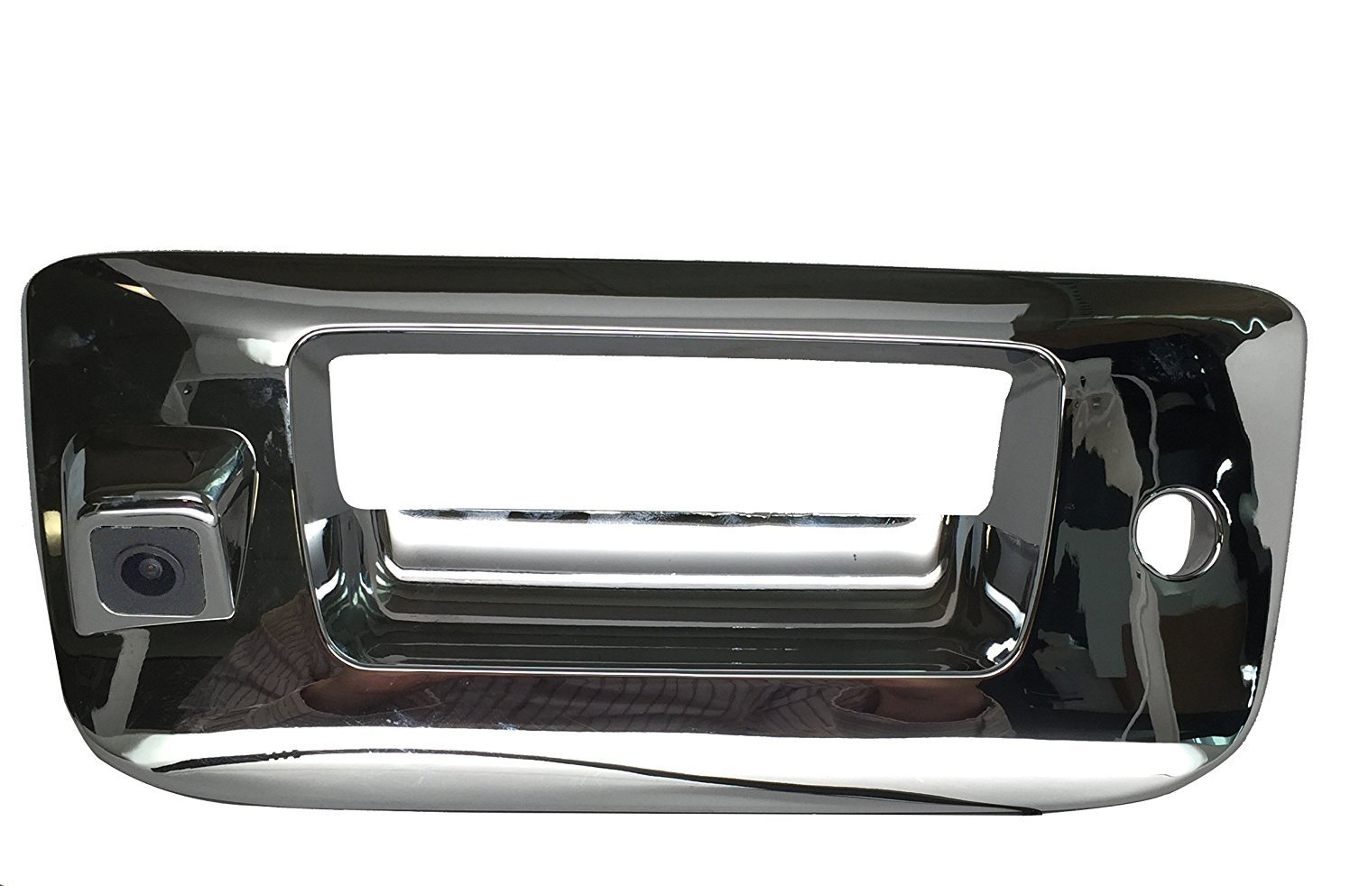 PYvideo Backup Camera for (2007-2013) Chevy Silverado / GMC Sierra for Universal Monitors (RCA) (Color: Chrome) by PYvideo (Image #1)