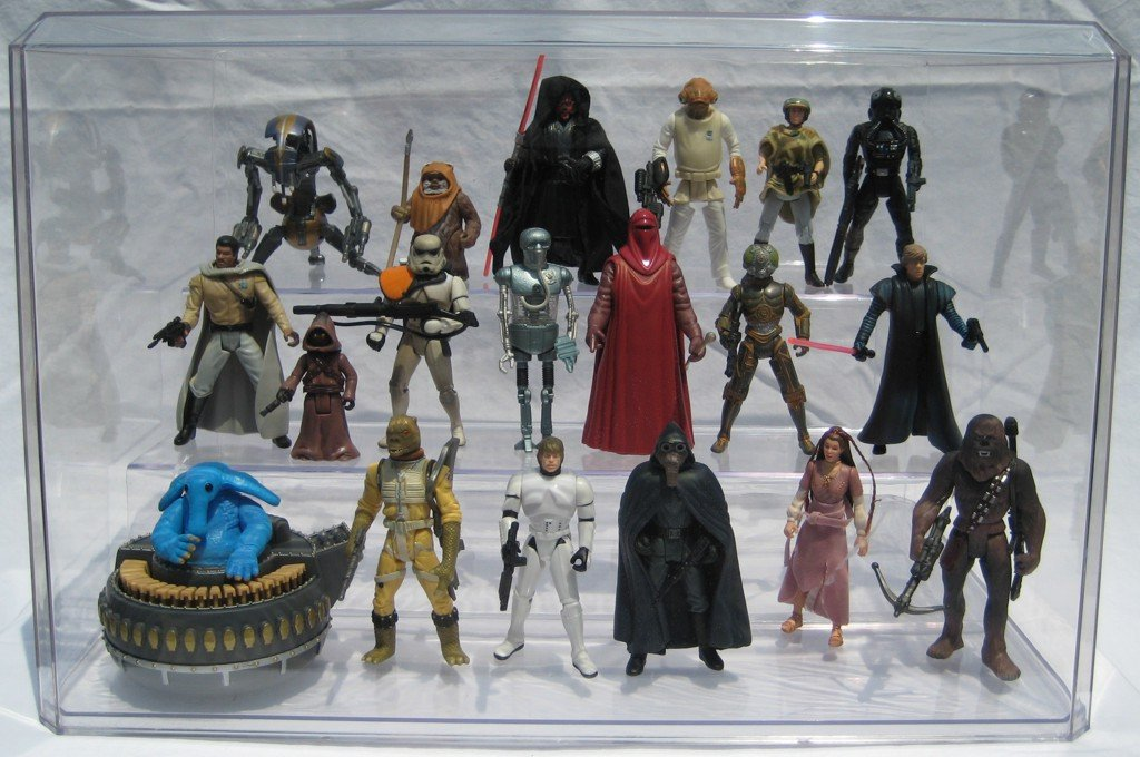 APEX Action Figure Display Case by SMALLJOES.COM, LLC