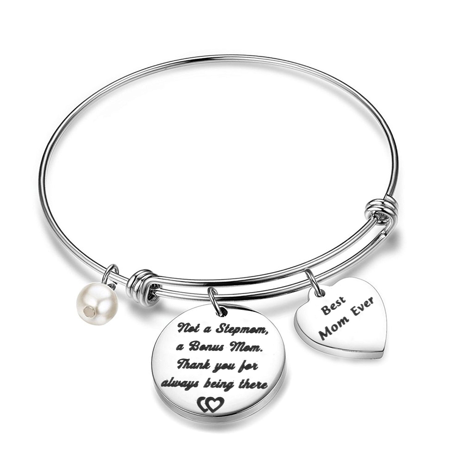 Bonus Mom Bracelet Not a Stepmom a Bonus Mom Stepmom Gift BNQL