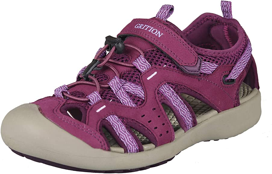 GRITION Women Outdoor Hiking Sandals