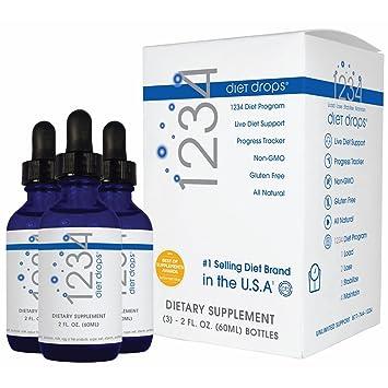 Amazon Creative Bioscience 1234 Diet Drops 3 Pack Health