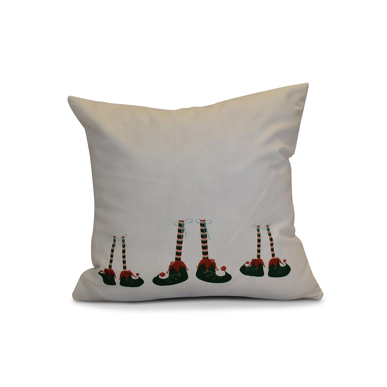 Elfin Magic Pillow Black 16x16, E by design PHGN691BK4-16 16 x 16-inch