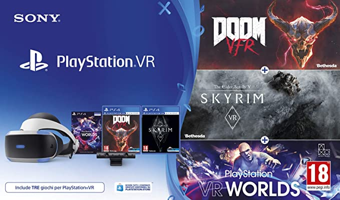offerta bundle playstation vr