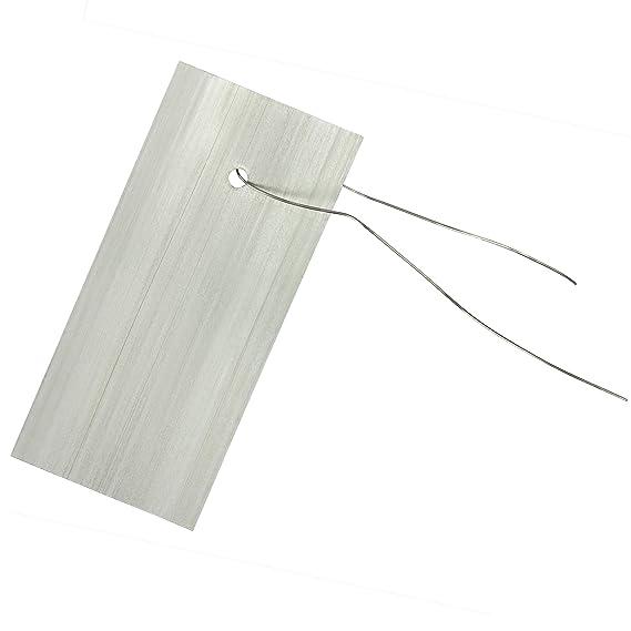 GardenMate® 25er Set Premium Hängeetiketten aus Metall