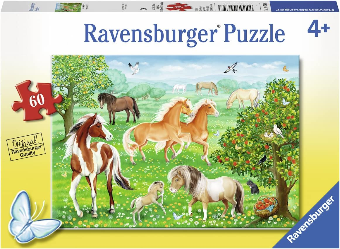 Ravensburger 09639 Mustang Meadow Jigsaw Puzzles