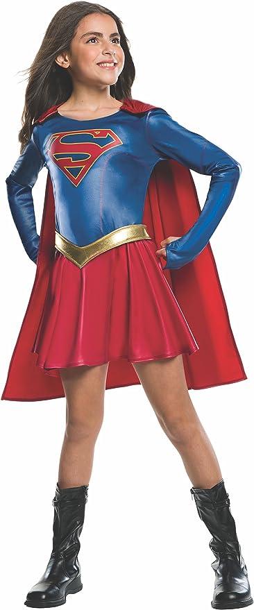 Superhero Supergirl Toddler//Child Costume