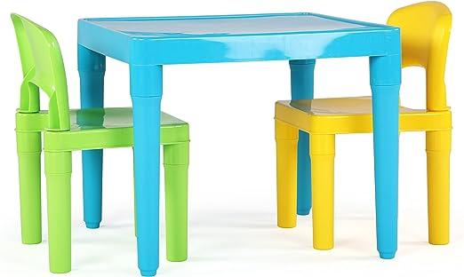 Juego de Mesa y sillas para niños Tot Tutors: Amazon.es: Juguetes ...