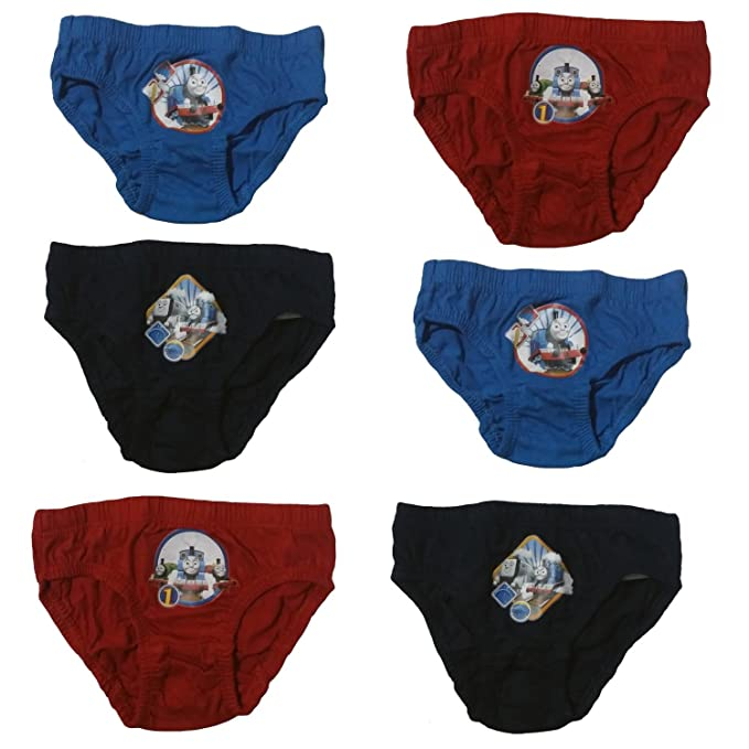 Childrens Character Thomas and Friends Briefs Pants Slips Underwear Five Pack 2-3 to 5-6 Years