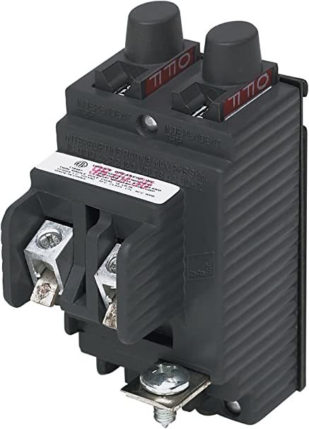 UBIP2020-New Pushmatic P2020 Replacement  Twin 20 Amp Circuit Breaker  Manufactured by Connecticut Electric