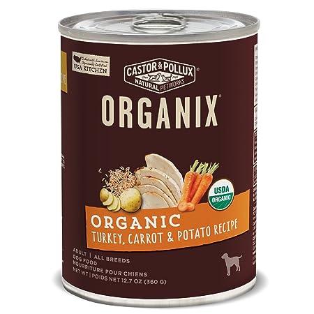 Organix Castor Pollux Organic Canned Dog Food, 12 Count 12.7 oz