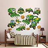 John Deere Johnny Tractor Farming Collection Wall Decal 79 x 52in