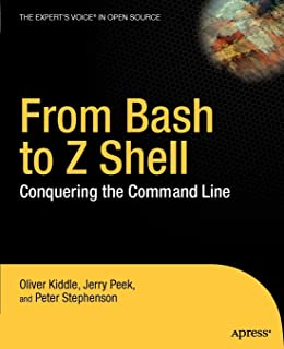 Amazon com: Learning Shell Scripting with Zsh (9781783282937