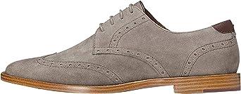 TALLA 43 EU. find. Alvin - Zapatos de Cordones Brogue Hombre