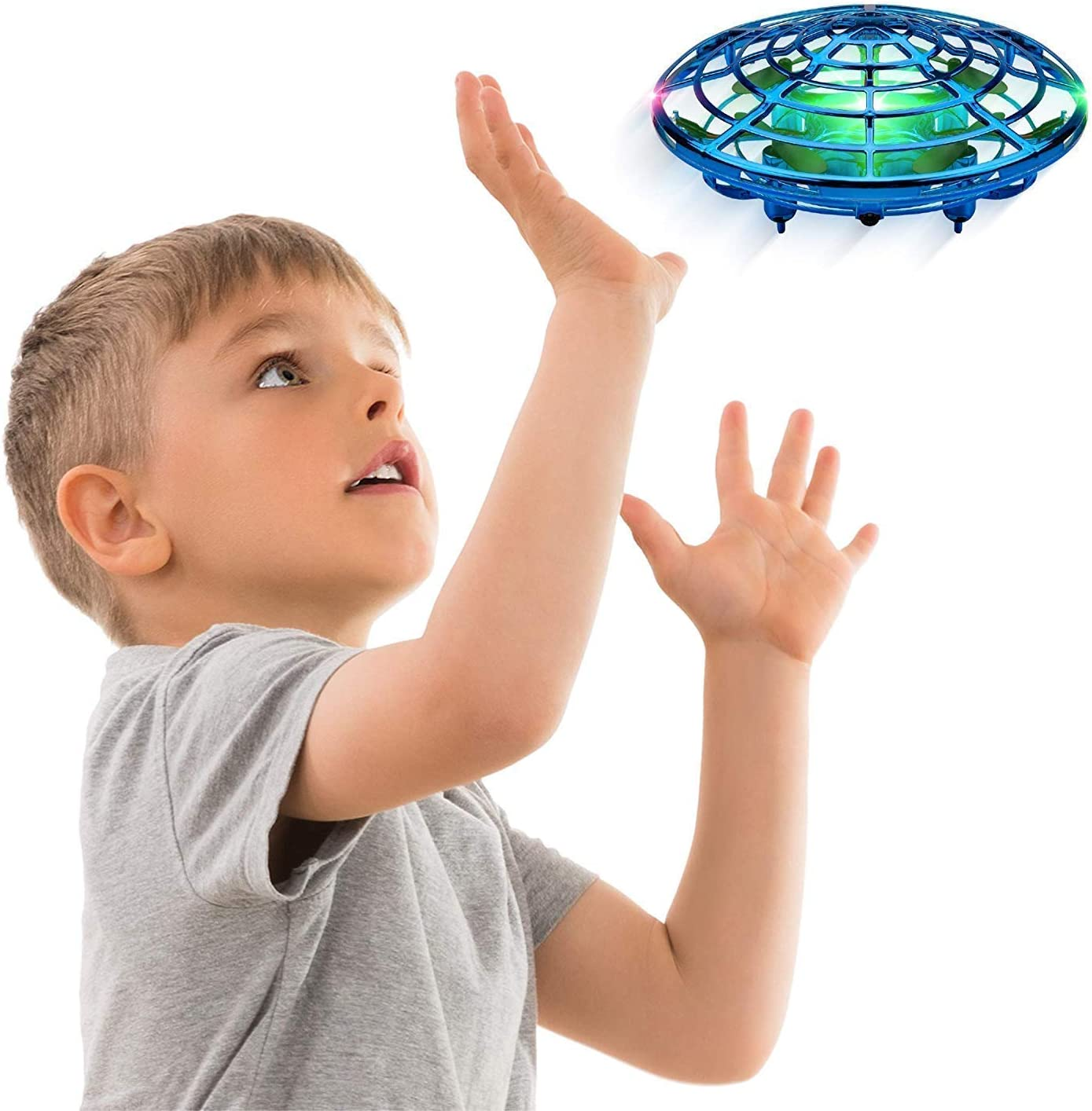 Hands Free Mini Drone, Easy Indoor Small UFO Flying Ball Drone