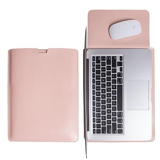25 opinioni per WALNEW Elegante custodia protettiva morbida in pelle per MacBook Air 11 pollici