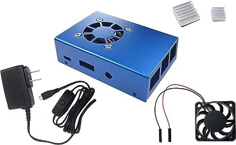 UL Listed CanaKit 5V 2.5A Raspberry Pi 3 B Power Supply//Adapter