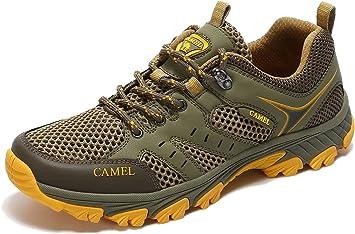 Camel Zapatos de trail para hombre Botas de montaña Ligeras A ...