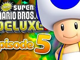Amazon Com Watch Clip New Super Mario Bros U Deluxe Gameplay