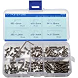 M3 Stainless Steel Phillips Flat Head Machine Screws Qty 135-piece Assortmrnt Set M3x6 M3x8 M3x10 M3x12 M3x14 M3x16 M3x20 M3x25 M3x30mm