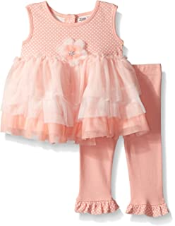 004f215c0b Amazon.com: Little Lass Infant Girls Red White Blue Heart Shirt ...