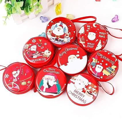 Regalos de Navidad]-Navidad Santa Claus Mini Monedero ...