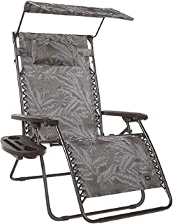 Medium image of bliss hammocks xx large gravity free recliner with canopy  u0026 tray 33