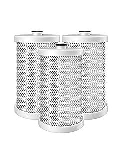 EXCELPURE EP-WFCB Refrigerator Water Filter Compatible With WFCB, WF1CB, HDX FMF-2, SWF1CB, WFB, SWFCB, SWFB, SGF-W1CB-SW, SGF-F1, WF284, WSF-1, WSF-2, WSF-4, 46-9906, 469906, RWF2300A - 3 PACK