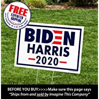 ITC Biden/Harris for President 2020 Yard Signs with H-Frames 12