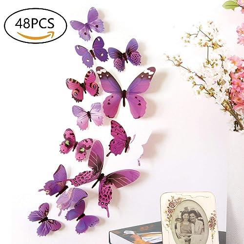 Butterfly Room Decor Amazon Com