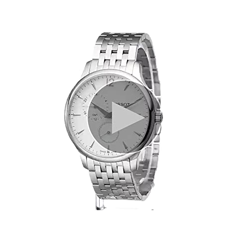 Tissot Men's T0636391103700 Tradition Analog Display Swiss Quartz Silver Watch
