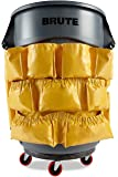 YELLOW ROUND Caddy Bag For Brute