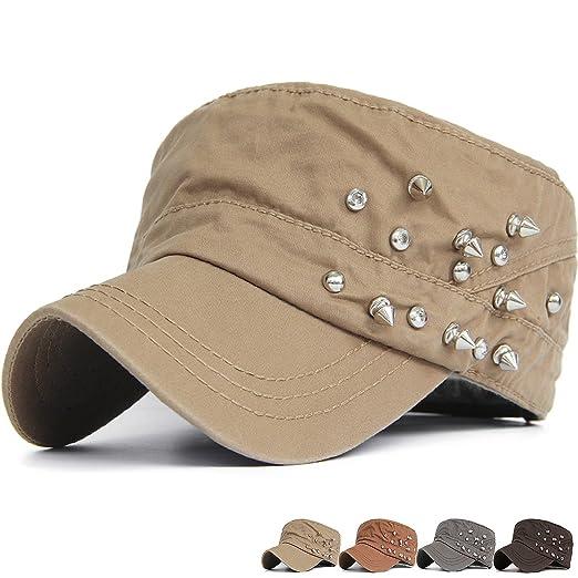 281f5325f Rayna Fashion Men Women Soft Washed Cotton Adjustable Flat Top ...