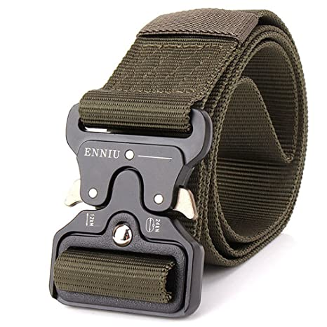 Amazon com: Men Army Tactical Belts Special Forces Swat