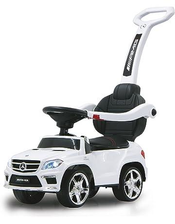 991f21389a2 Jamara - 460244 - Push Car Mercedes GL63AMG - Canne Parentale Blanc