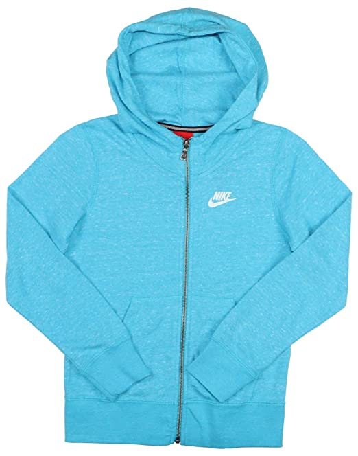 Nike Big Girls (7 – 16) Gym Vintage Full Zip Sudadera con Capucha