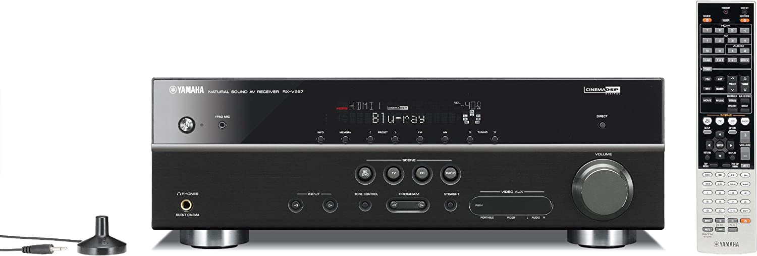 Yamaha RX V567 7.1 Channel 150 Watt Home Theater Receiver