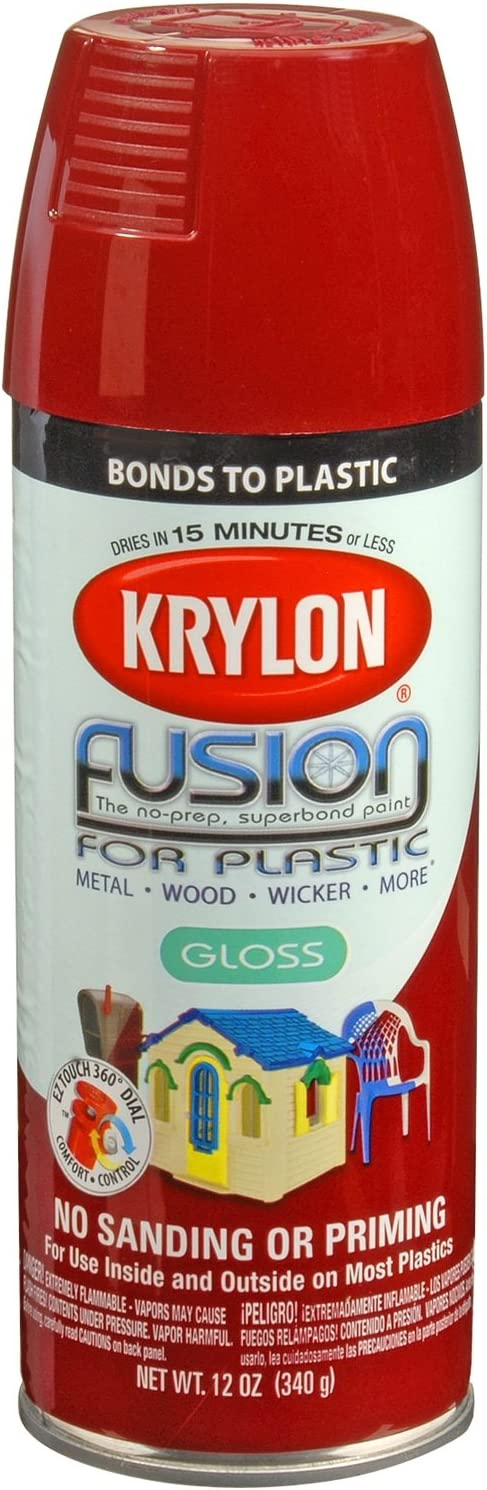 Krylon K02325007 Fusion Spray Paint, Burgundy